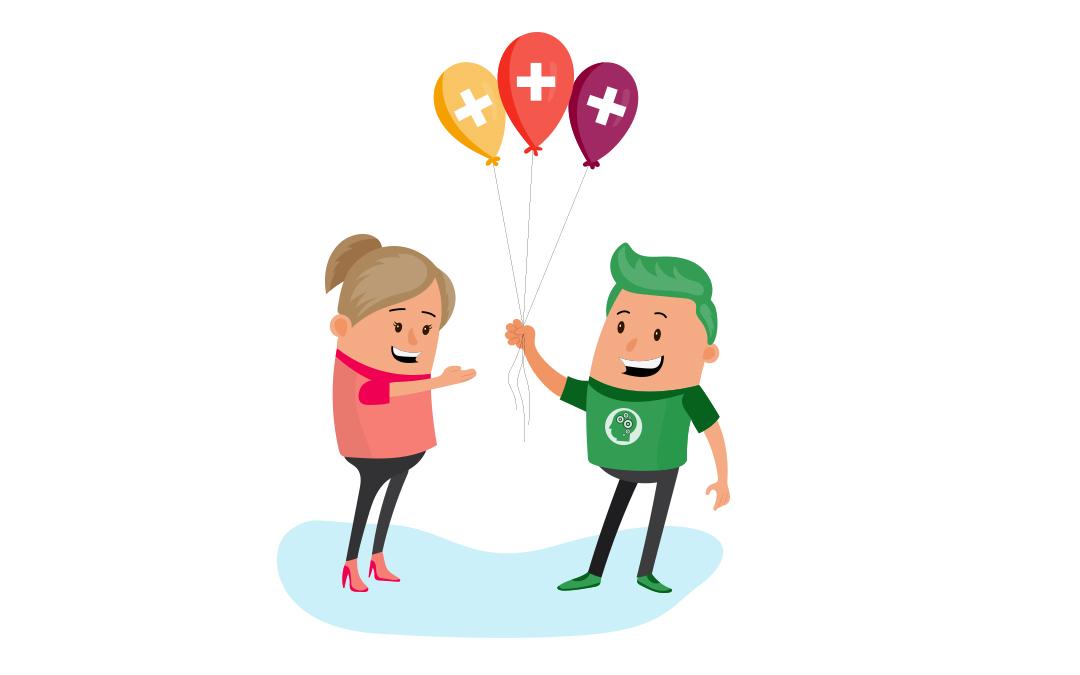 Health balloons